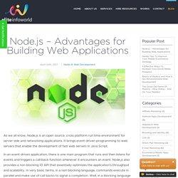 Node.js – Advantages for Building Web Applications