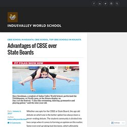 Advantages of CBSE over State Boards – Indusvalley world school