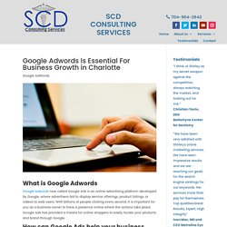 Google Adwords advantages for Charlotte local businesses