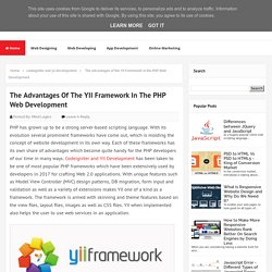 The Advantages of the YII Framework in the PHP Web Development - MindLogics Blog
