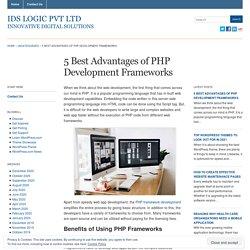 PHP Framework Development Advantages