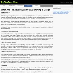 What Are The Advantages Of CAD Drafting & Design Services?