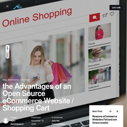the Advantages of an Open Source eCommerce Website / Shopping Cart