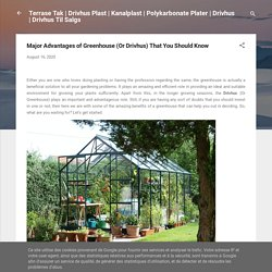 Major Advantages of Greenhouse (Or Drivhus) That You Should Know
