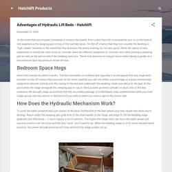 Advantages of Hydraulic Lift Beds - Hatchlift