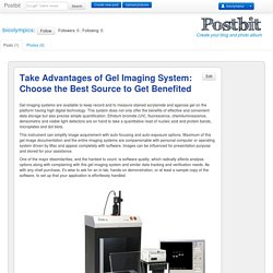 Take Advantages of Gel Imaging System: Choose the Best Source to Get Benefited