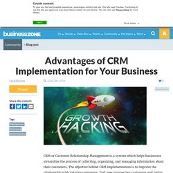 Advantages of CRM Implementation for Your Business