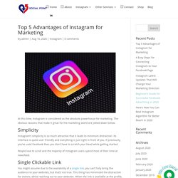 Top 5 Advantages of Instagram for Marketing - Buy Instagram Followers Canada