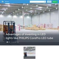 Illuminate Your Home with Efficient PHILIPS CorePro LED tube