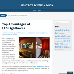 Top Advantages of LED Lightboxes