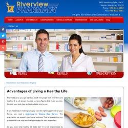 Advantages of Living a Healthy Life