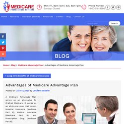 Advantages of Medicare Advantage Plan