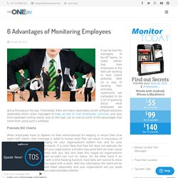 6 Advantages of Monitoring Employees