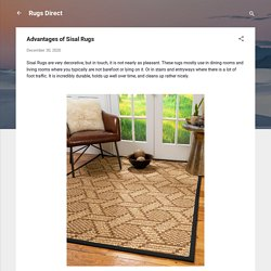 Advantages of Sisal Rugs