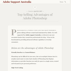 Top Selling Advantages of Adobe Photoshop – Adobe Support Australia