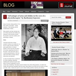 """""""Advantages of seiza and shikko in the eyes of a physiotherapist,"""" by Bartłomiej Gajowiec"""