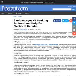5 Advantages Of Seeking Professional Help For Electrical Repairs