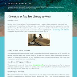 Advantages of Dry Sofa Cleaning at Home