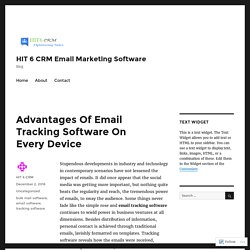 APP for Email Tracking Software