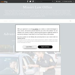 Advantages Of Hiring The Traffic Defense Lawyer - Minert Law Office