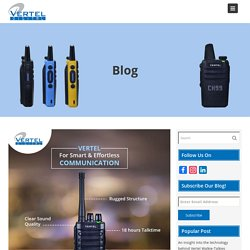 Advantages of using unlicensed walkie-talkies