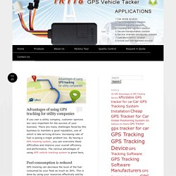 Advantages of Using 3G GPS Vehicle Tracking Device