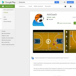 AdvCoach – Applications sur Google Play