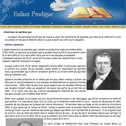 Adventisme du septième jour - Enfant Prodigue