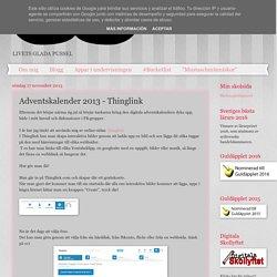 Adventskalender 2013 - Thinglink