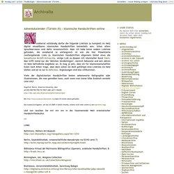 Adventskalender (Türlein XI) - Islamische Handschriften online