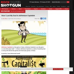 AdVenture Capitalist review - Rock Paper Shotgun