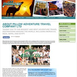 Pillow Adventure Travel Company Ltd