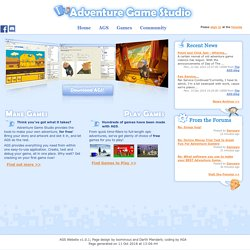 AGS - Adventure Game Studio