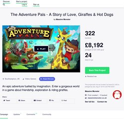The Adventure Pals - A Story of Love, Giraffes & Hot Dogs by Massive Monster