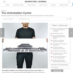 adventure journal – The Unforbidden Cyclist