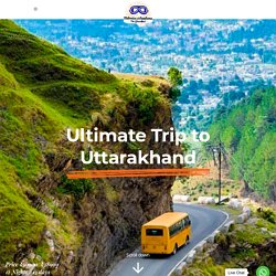 How to get the Ultimate bike trip package to Uttarakhand?