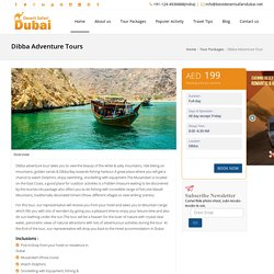 Dibba Adventure Tour Packages, Musandam Dibba Cruise Tour