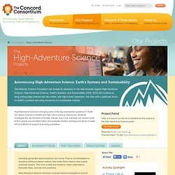 High-Adventure Science | The Concord Consortium