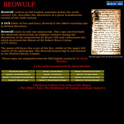 The Adventures of Beowulf - A Modern English Translation