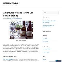 Enjoy Wine Tasting Los Angeles