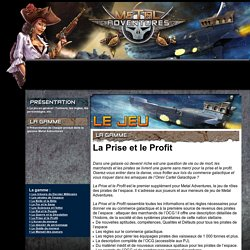Metal Adventures - le site officiel du jeu de rôle des pirates de l'espace