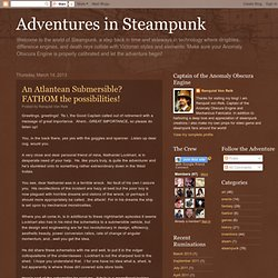 Adventures in Steampunk