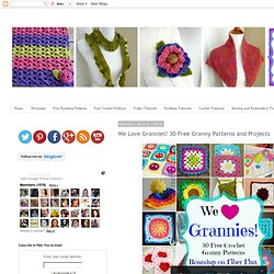 We Love Grannies! 30 Free Granny Patterns and Projects
