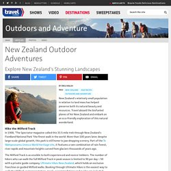 New Zealand Outdoor Adventures - Outdoors And Adventure - TravelChannel.com