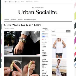 The Adventures of an Urban Socialite™ - StumbleUpon