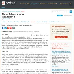 A Literary Analysis of Alice's Adventures in Wonderland and Through the Looking-Glass Essay