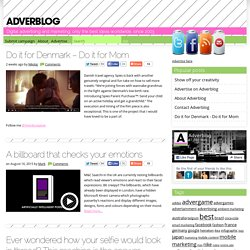 Adverblog - interactive marketing and other great advertising ideas