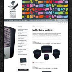 Advertible : kits pour l'événementiel - service de location de meuble