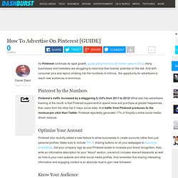 How To Advertise On Pinterest [GUIDE]