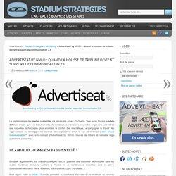 Advertiseat by NVC® : Quand la housse de tribune devient support de communication 2.0